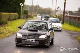 raised subaru impreza colin mcrae memorial run rms motoring