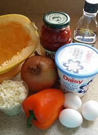 Cottage Cheese Daisy by Clean Eating Stuffed Spaghetti Squash Lasagna