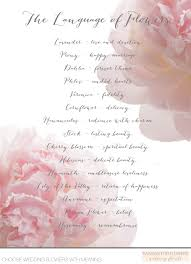 wedding flowers meaning the language of flowers flower meanings for flowers