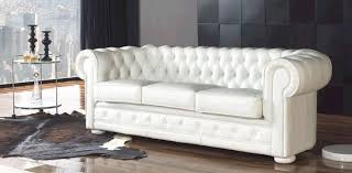 canapé chesterfield cuir blanc canapé chesterfield blanc photo 10 10 un canapé pas cher que