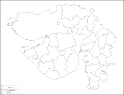 Blank India Map Pdf by Gujarat Free Map Free Blank Map Free Outline Map Free Base Map