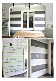painted wall stripe inspiration