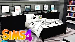 Teen Boys Bedroom The Sims 4 Room Build Teen Boy Bedroom Quarto Do