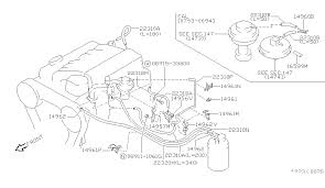 engine control vacuum piping for 1994 nissan pathfinder