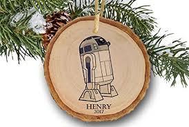 amazon com star wars ornament personalized christmas ornaments