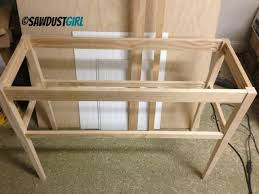 build a console table how to build a diy console table home life pinterest
