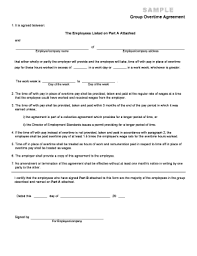 exle of a formal business letter fillable online es0005 group overtime agreement this form is to be