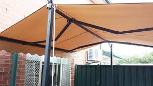 Awning Arms 3m X 3m Free Standing Retractable Folding Arms Awning Budget Awning
