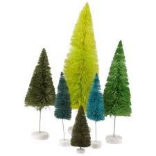 rainbow sisal trees set of 6 green shop sweet lulu