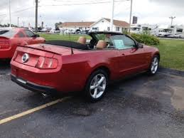 mustang convertibles for sale 2010 used ford mustang gt convertible for sale marshall ford