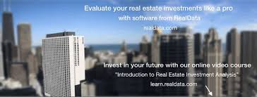 realdata software and education for real estate investors home