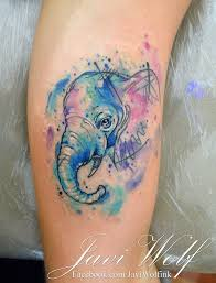 best 25 colorful elephant tattoo ideas on pinterest elephant