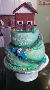 healthcare nurse cake