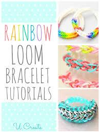 looms bracelet instructions images Rainbow loom bracelet tutorials u create png
