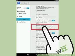 clear history android how to clear search history on android 8 steps