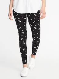 gap patterned leggings patterned leggings for women old navy