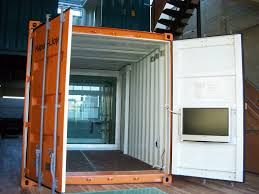 shipping container housing 3421