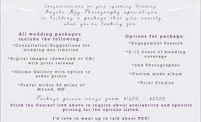 wedding packages prices 2017 wedding packages angela photography