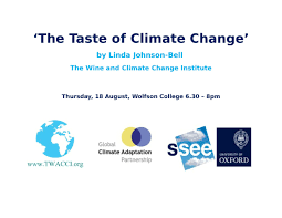 tasting notes the wine lady u0026 the wine and climate change institute