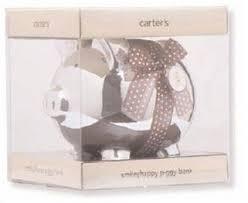 keepsake piggy bank s ceramic keepsake piggy bank silver
