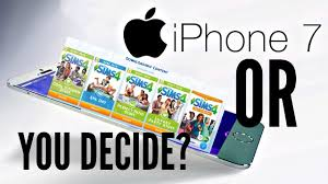 a new iphone 7 or the sims 4 u0026 all the packs the sims 4
