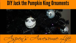 diy nightmare before christmas halloween jack the pumpkin king