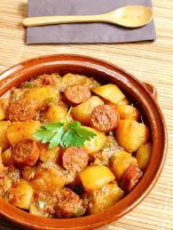 cuisine marmiton recettes chorizo aux pommes de terres recette pomme de terre recette