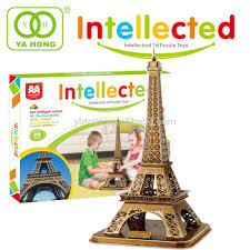 Eiffel Tower Decoration Handmade Decoration Model Eiffel Tower 3d Puzzle Buy Handmade