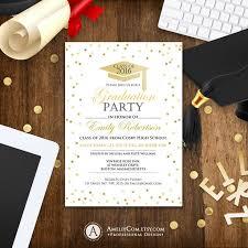 graduation invitation template best 25 graduation invitation templates ideas on