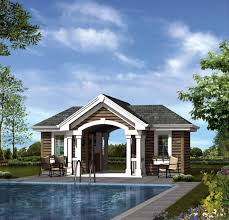 pool house plans simple attractive bedroom bath pool house plans