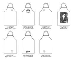 Print On Aprons Screen Printed Bib Aprons Custom Print Awesome Merchandise