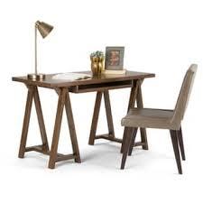 Small Desk Table Chestnut Finish Desks U0026 Computer Tables Shop The Best Deals For
