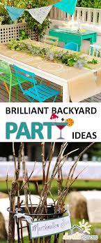 backyard party ideas brilliant backyard party ideas