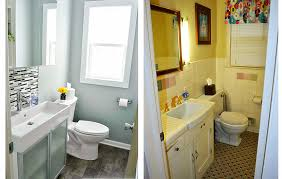 Bathroom Remodeling Ideas On A Budget by How To Do A Bathroom Renovation Man Positioning Pipes Diy Budget