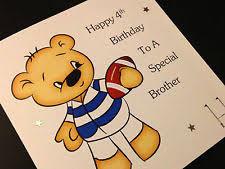 rugby birthday card ebay