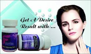 Gluta Vire flawless glutathione tablet skin whitening treatment skin