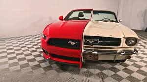 road test 2015 mustang side by side 1965 2015 mustang display