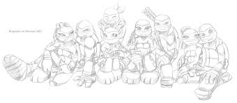 talena ninja turtle coloring pages coloring