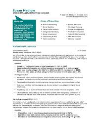 marketing sample resumes marketing resume sample resume genius