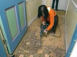 Installing Vinyl Sheet Flooring Crammed Linoleum Installation How To Install Flooring Tos Diy