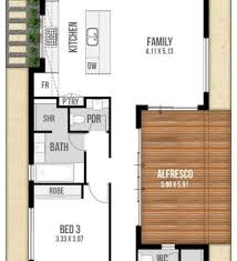 konica narrow lot home plan 087d 0310 house plans and more narrow