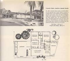 vintage house plans 1960s homes mid century homes for mid