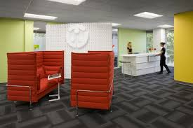 Red Office Furniture by Office Designs For Tech Companies Silicon Valley