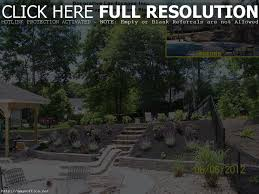 Sloped Front Yard Landscaping Ideas - ideas for backyard with slope home outdoor decoration