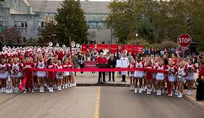 parade ribbon ribbon cutting ceremony officially opens woodlawn extension 2016