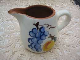 stangl pottery fruit and flowers vintage stangl pottery fruit pitcher ebay time for tea