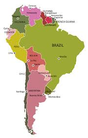 Brazil On South America Map by Geo Map Of Americas