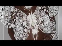 crochet butterfly irish lace youtube irish butterflies