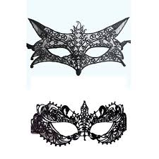 mask for party 2pcs black masquerade masks carnival costume mask