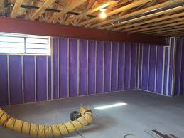 how to insulate a basement using spray foam